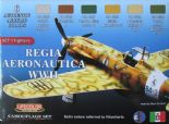 LC-CS19 WWII Italian Royal Air Force Set 1 (22ml x 6)